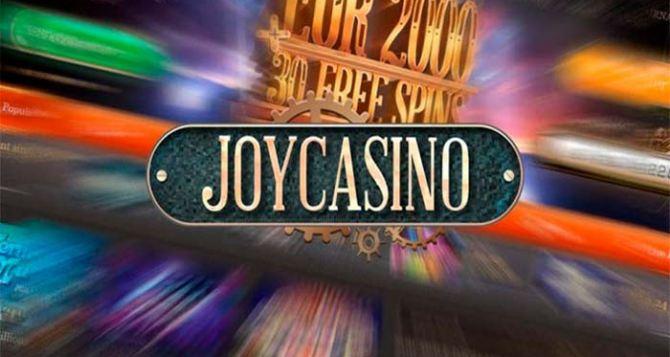 Джой казино ( Joy casino ) официальный сайт