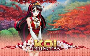 Онлайн слот Принцесса Кои в формате аниме